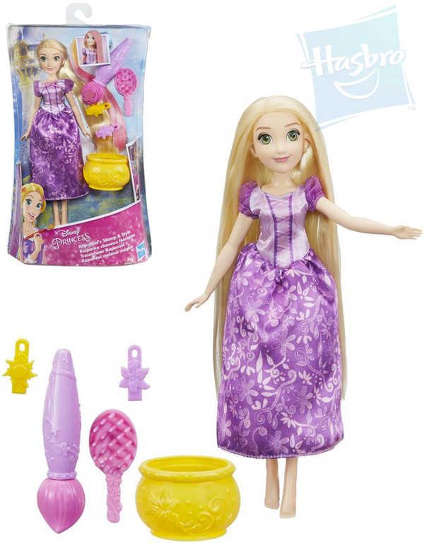 HASBRO Disney Princess Locika panenka princezna 26cm kouzelné vlasy
