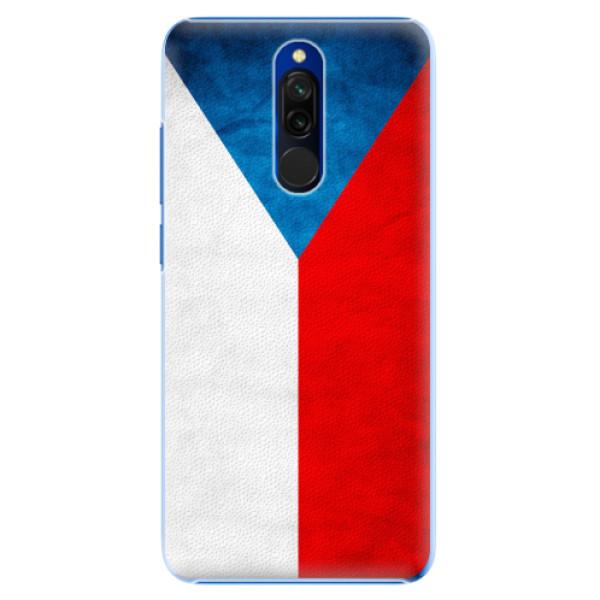 Plastové pouzdro iSaprio - Czech Flag - Xiaomi Redmi 8