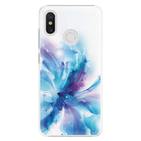 Plastové pouzdro iSaprio - Abstract Flower - Xiaomi Mi 8