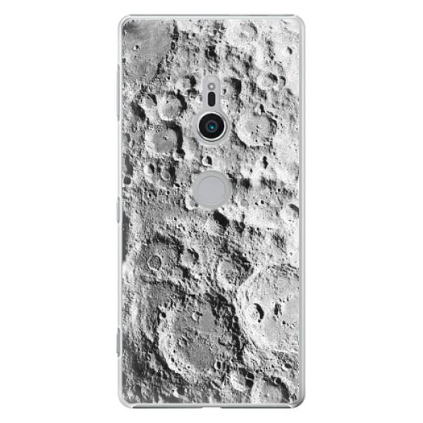 Plastové pouzdro iSaprio - Moon Surface - Sony Xperia XZ2