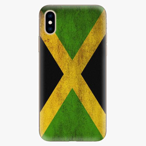 Silikonové pouzdro iSaprio - Flag of Jamaica - iPhone XS