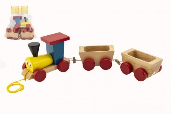 vlak-2-vagonky-drevo-tahaci-barevny-celkova-delka-43cm-v-sacku