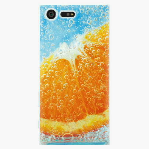 Plastový kryt iSaprio - Orange Water - Sony Xperia X Compact