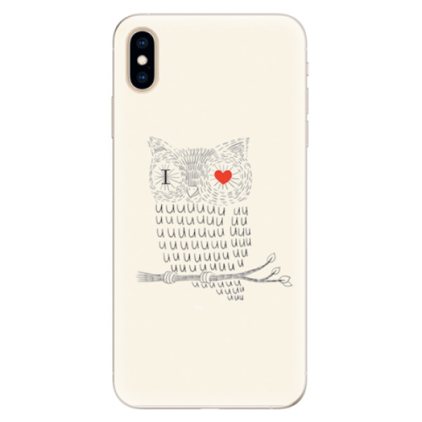 Silikonové pouzdro iSaprio - I Love You 01 - iPhone XS Max
