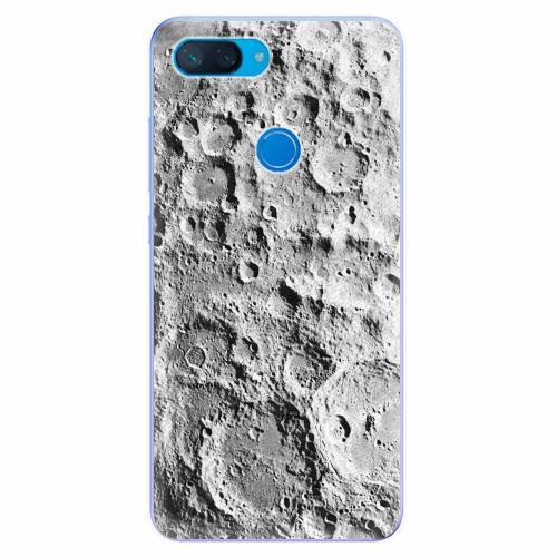 Silikonové pouzdro iSaprio - Moon Surface - Xiaomi Mi 8 Lite