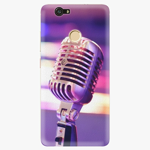 Plastový kryt iSaprio - Vintage Microphone - Huawei Nova