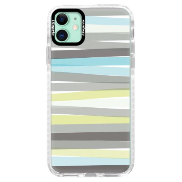 Silikonové pouzdro Bumper iSaprio - Stripe - iPhone 11
