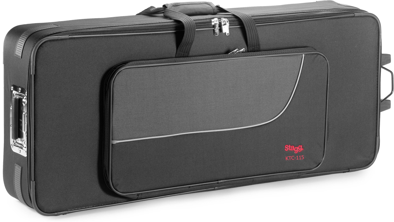 Stagg KTC-115, klávesový kufr na kolečkách