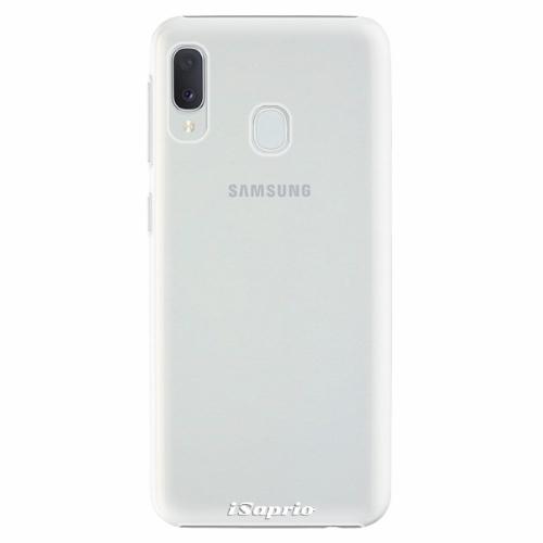 Plastový kryt iSaprio - 4Pure - průhledný matný - Samsung Galaxy A20e
