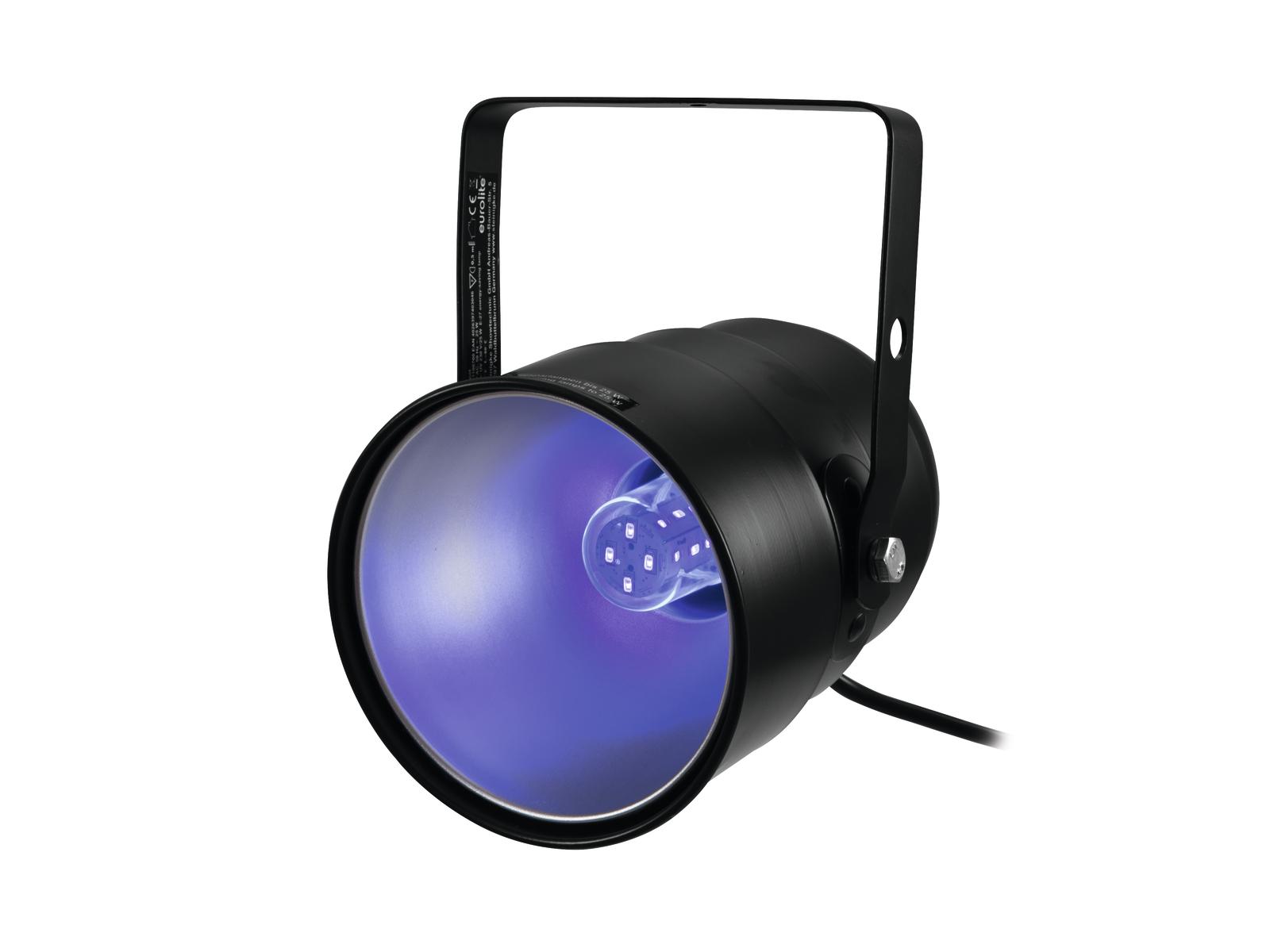 Eurolite UV-Spot, 1x 5W UV LED E27
