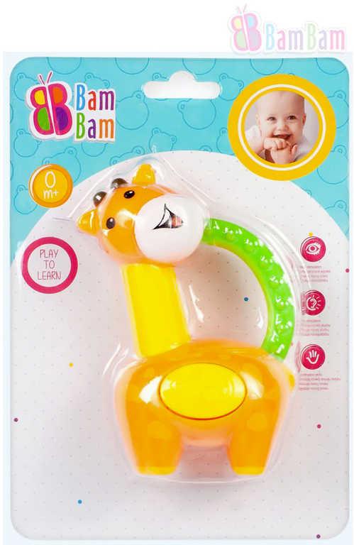 ET BAM BAM Baby chrastítko LOS kousátko pro miminko