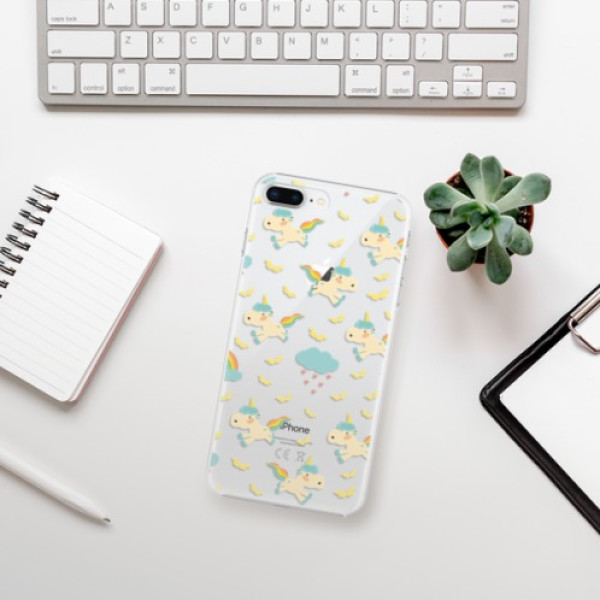 Plastové pouzdro iSaprio - Unicorn pattern 01 - iPhone 8 Plus