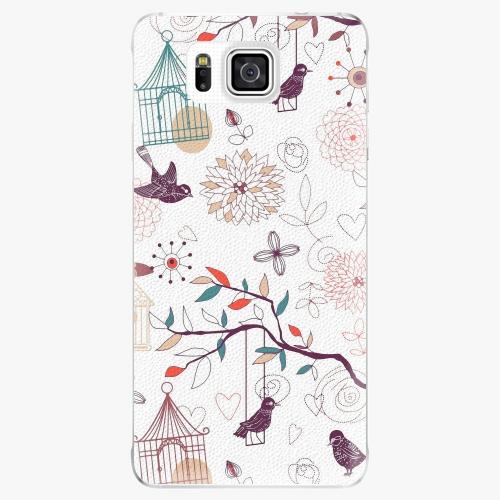 Plastový kryt iSaprio - Birds - Samsung Galaxy Alpha