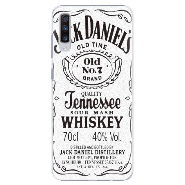 Plastové pouzdro iSaprio - Jack White - Samsung Galaxy A70