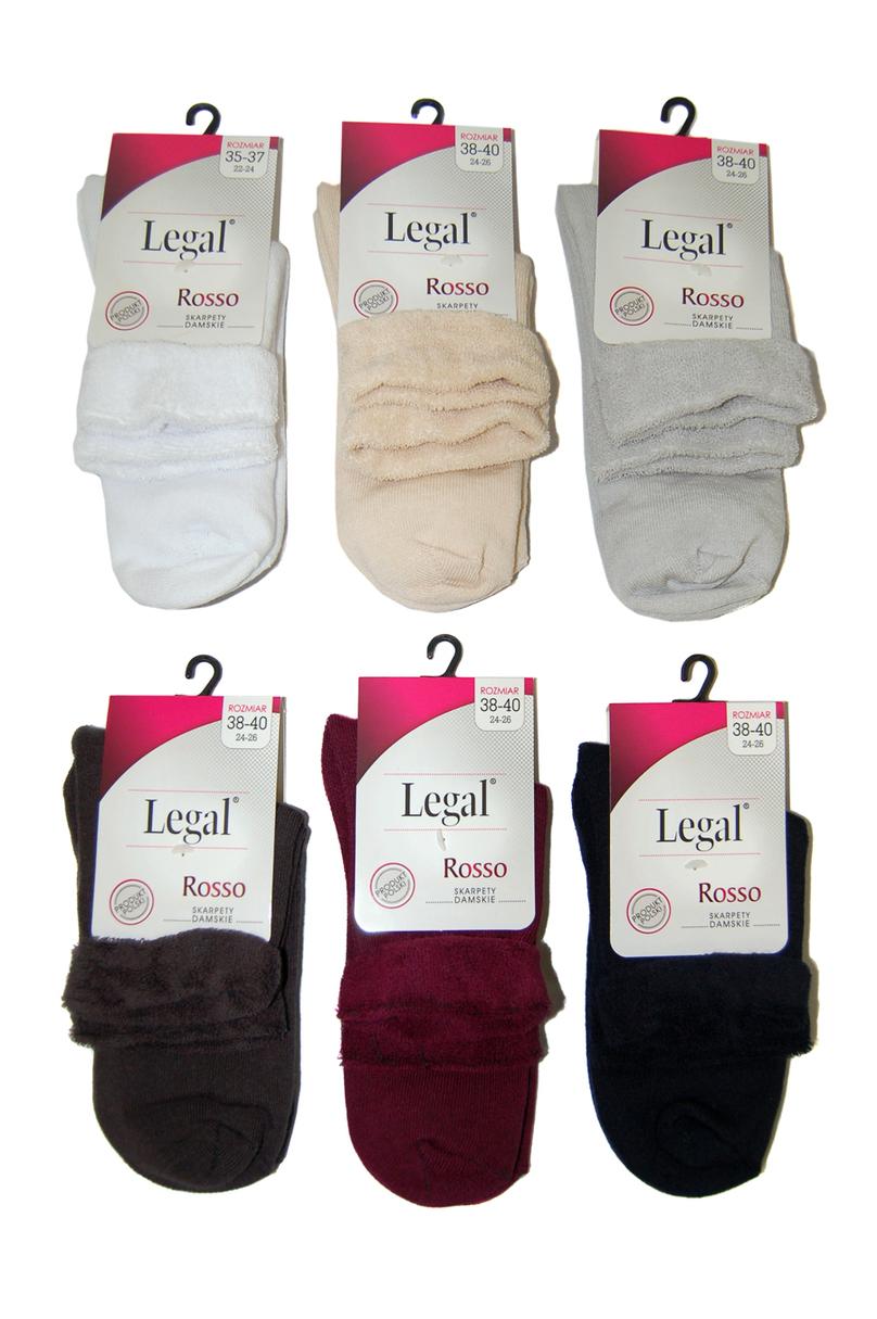 Dámské ponožky Rosso Legal - Bílá/38/40
