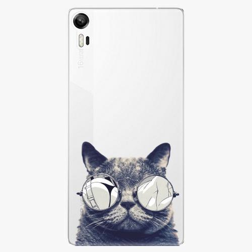 Plastový kryt iSaprio - Crazy Cat 01 - Lenovo Vibe Shot