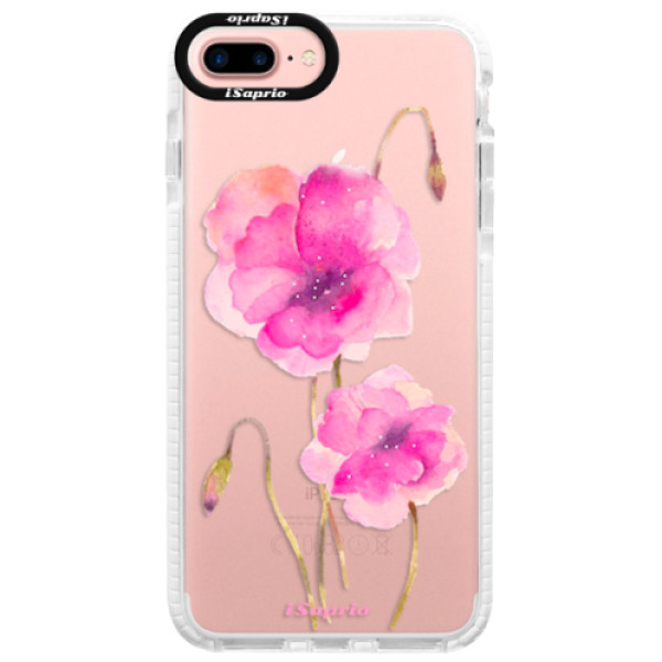 Silikonové pouzdro Bumper iSaprio - Poppies 02 - iPhone 7 Plus
