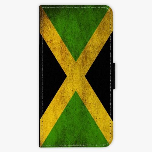 Flipové pouzdro iSaprio - Flag of Jamaica - iPhone 7 Plus