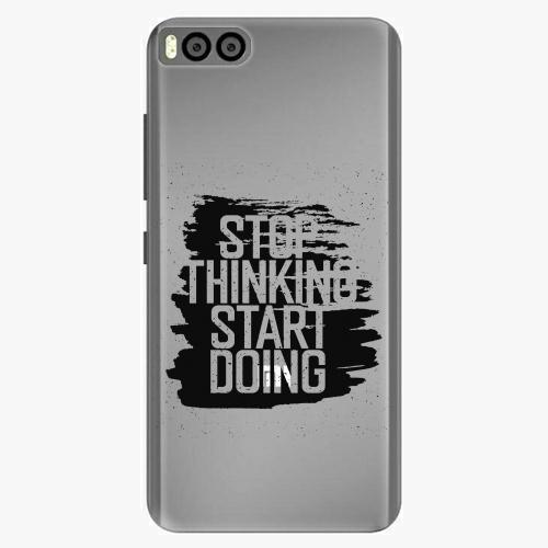 Plastový kryt iSaprio - Start Doing - black - Xiaomi Mi6