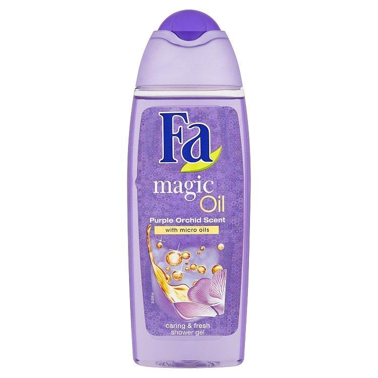 Magic Oil sprchový gel s vůní fialové orchideje 250 ml