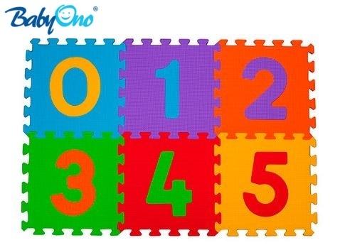 Pěnové puzzle Baby Ono - Čísla - 6ks