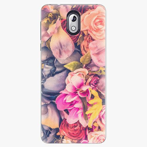 Plastový kryt iSaprio - Beauty Flowers - Nokia 3.1
