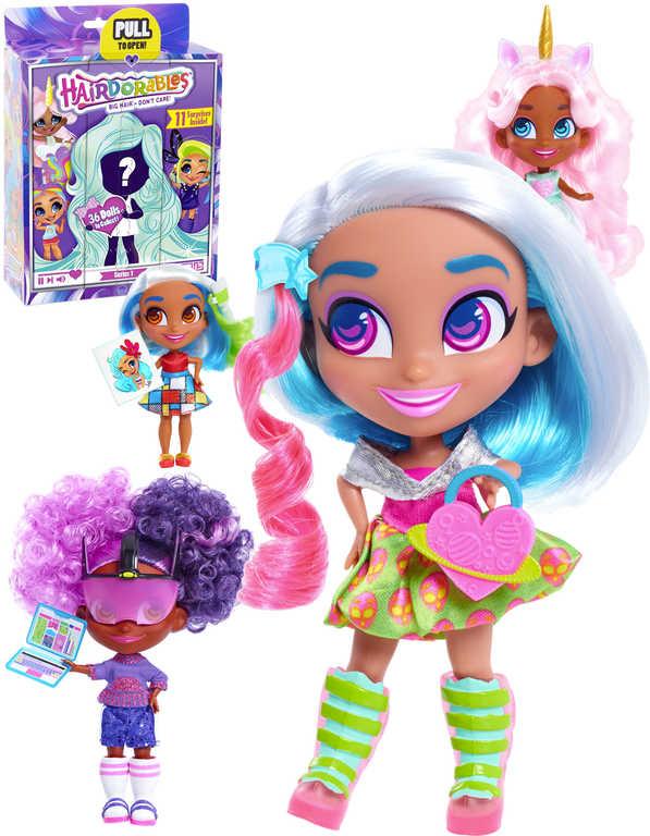Panenka kouzelná Hairdorables set s doplňky 11 překvapení v krabičce series 1