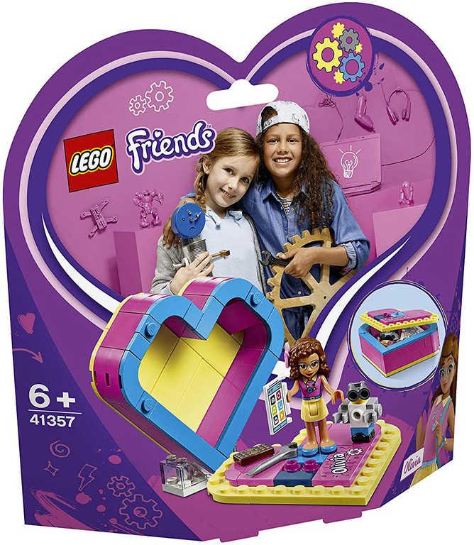 LEGO FRIENDS Oliviina srdcová krabička 41357 STAVEBNICE