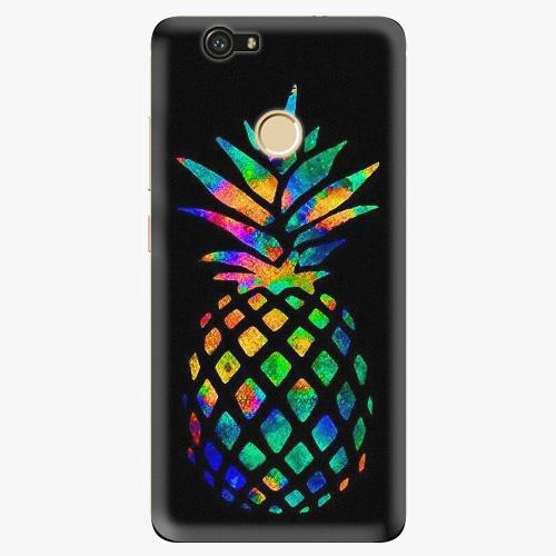Plastový kryt iSaprio - Rainbow Pineapple - Huawei Nova