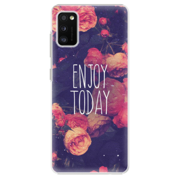 Plastové pouzdro iSaprio - Enjoy Today - Samsung Galaxy A41