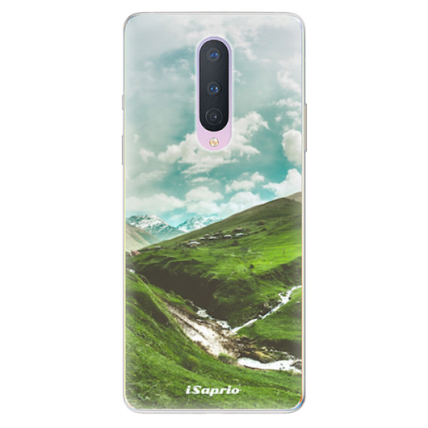 Odolné silikonové pouzdro iSaprio - Green Valley - OnePlus 8
