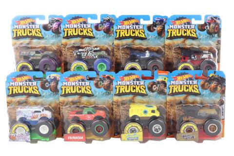 Hot Wheels Monster trucks kaskadérské kousky FYJ44 TV 1.3.-30.5.