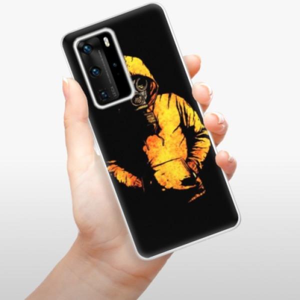 Odolné silikonové pouzdro iSaprio - Chemical - Huawei P40 Pro