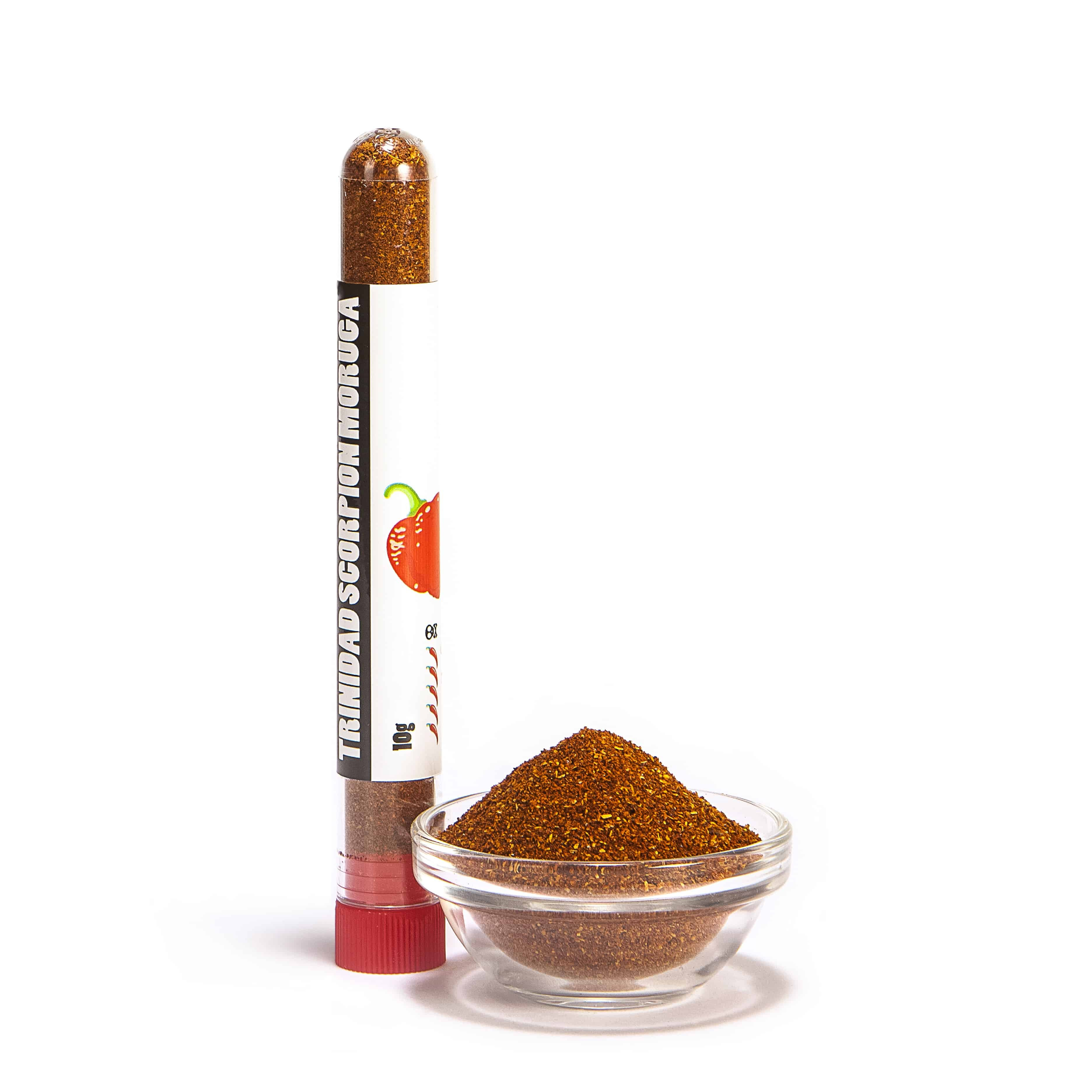 The chilli Doctor Trinidad Scorpion Moruga prášek 10 g