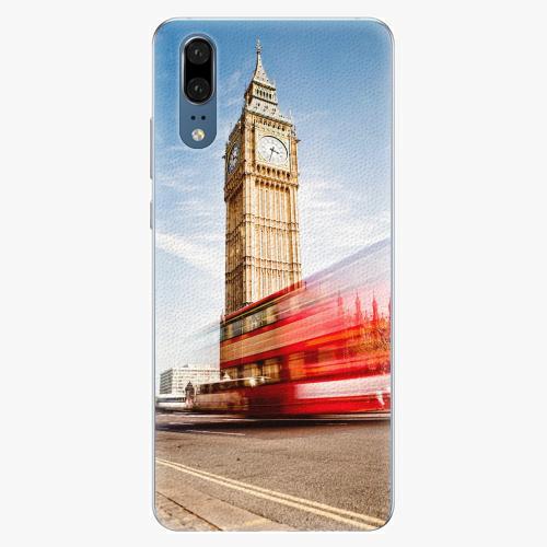 Silikonové pouzdro iSaprio - London 01 - Huawei P20