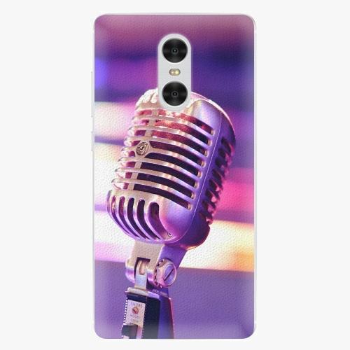 Plastový kryt iSaprio - Vintage Microphone - Xiaomi Redmi Pro