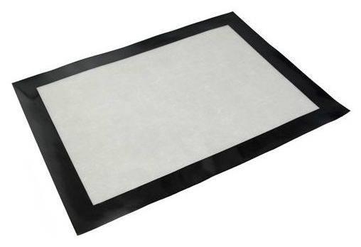 Silikonová kuchyňská podložka na pečení 40x30cm černá
