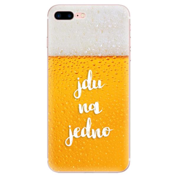 Odolné silikonové pouzdro iSaprio - Jdu na jedno - iPhone 7 Plus