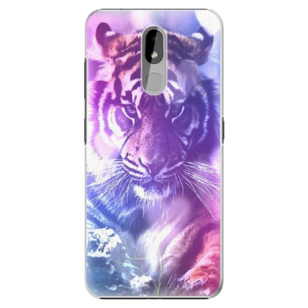 Plastové pouzdro iSaprio - Purple Tiger - Nokia 3.2