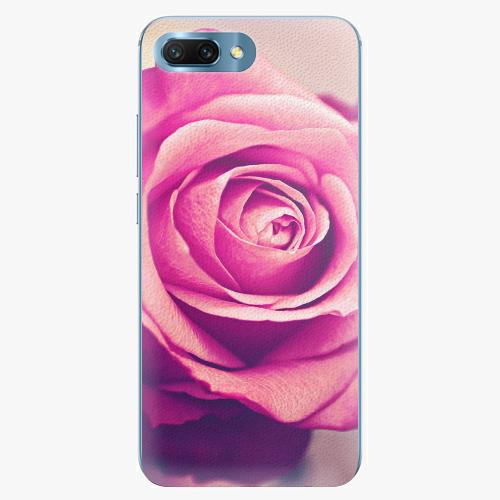 Plastový kryt iSaprio - Pink Rose - Huawei Honor 10