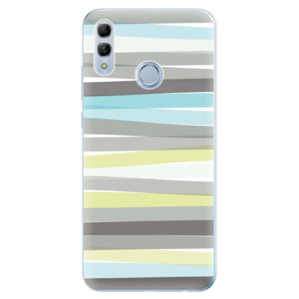 Odolné silikonové pouzdro iSaprio - Stripes - Huawei Honor 10 Lite