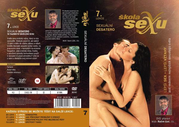 Škola sexu - komplet 30 erotických filmů na DVD