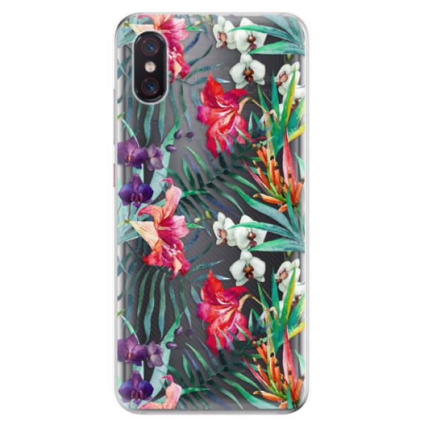 Odolné silikonové pouzdro iSaprio - Flower Pattern 03 - Xiaomi Mi 8 Pro