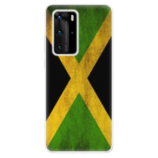 Odolné silikonové pouzdro iSaprio - Flag of Jamaica - Huawei P40 Pro