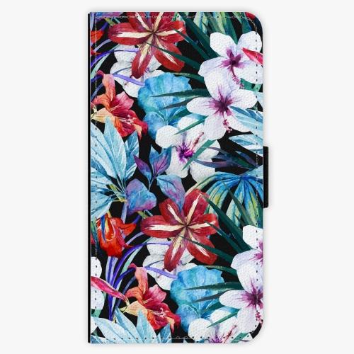 Flipové pouzdro iSaprio - Tropical Flowers 05 - Huawei Ascend P8
