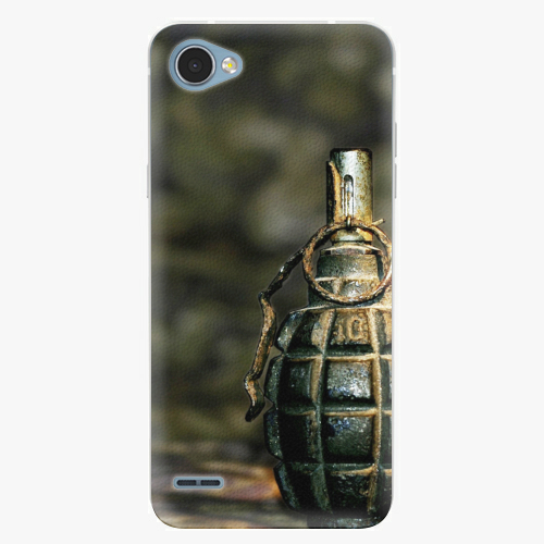 Plastový kryt iSaprio - Grenade - LG Q6