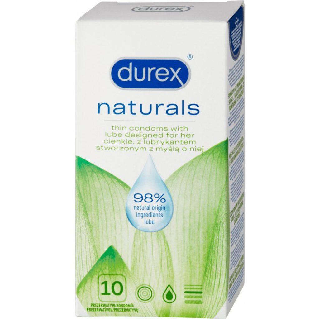 Durex Naturals 10ks