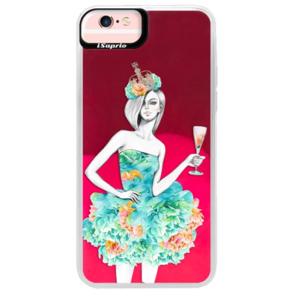 Neonové pouzdro Pink iSaprio - Queen of Parties - iPhone 6 Plus/6S Plus