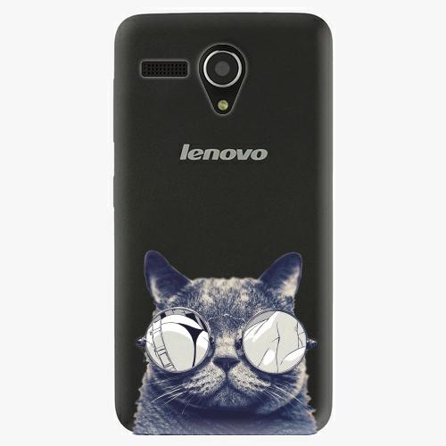 Plastový kryt iSaprio - Crazy Cat 01 - Lenovo A606