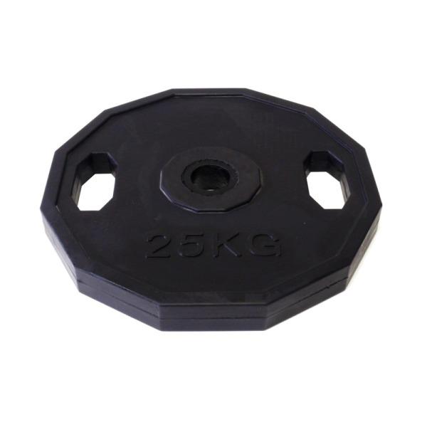 kotouc-olymp-neopren-25kg-12hran-dual-grip